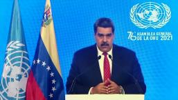 Maduro exige levantar las sanciones contra Venezuela