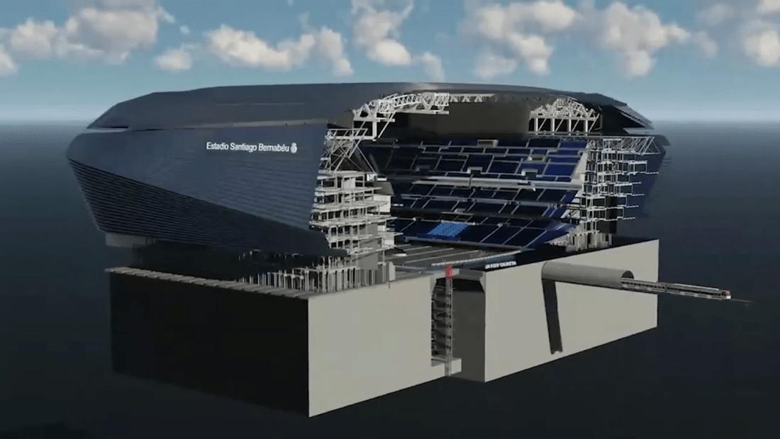 Youtuber recrea cómo sería el nuevo césped del Bernabéu