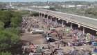 Reabren puente Texas-Coahuila tras crisis migratoria