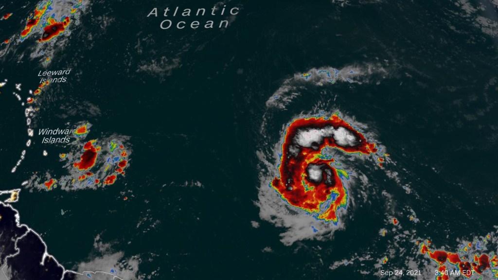 La tempesta tropicale Victor si sta formando nell'Atlantico