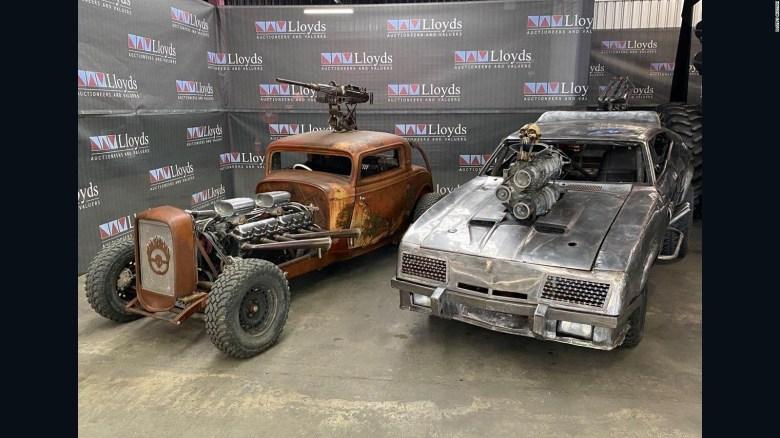 """Estos carros de """"Mad Max: Fury Road"""" van a subasta"""