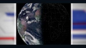 Así se vio el equinoccio de otoño desde el espacio
