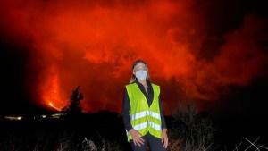 Imagen apocalíptica en vivo desde el volcán en La Palma
