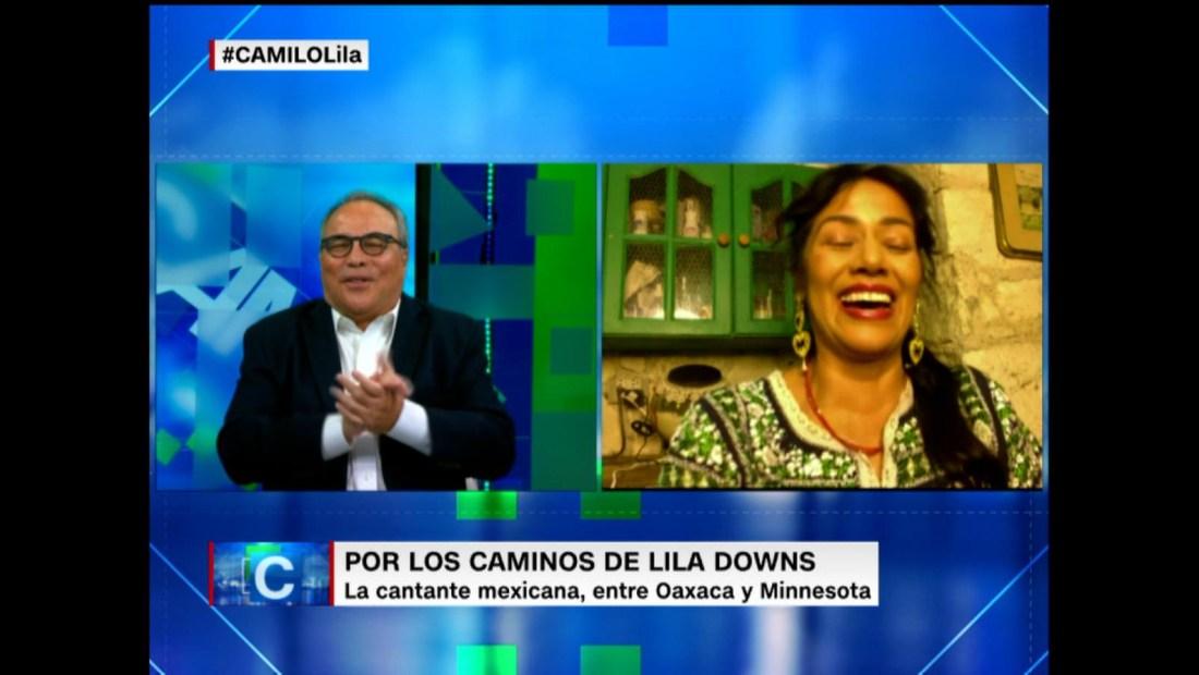 Lila Downs canta en su cocina. Y CNN estuvo ahí