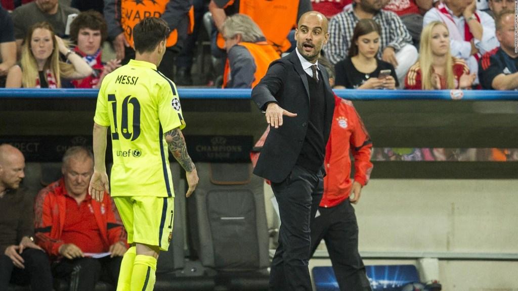 Guardiola: no sé cómo parar a Messi, Neymar y Mbappé