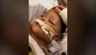 Este niño casi muere por una complicación del covid-19