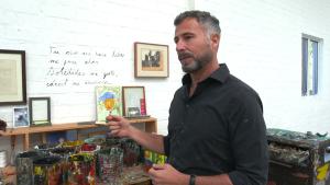 Martínez Celaya y el proceso creativo detrás de su obra