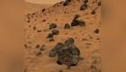 Las rocas de lava en Marte, tras fuerte actividad volcánica