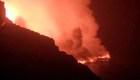"""Se forma un """"delta de lava"""" en La Palma"""