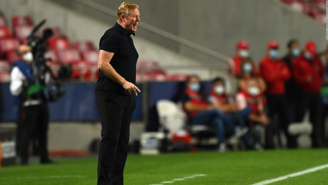 Koeman: Al final, el culpable es el entrenador