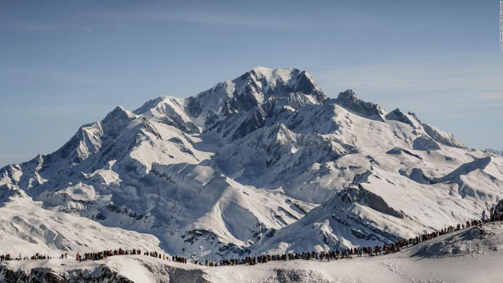 Conoce la montaña que se redujo casi un metro en Francia