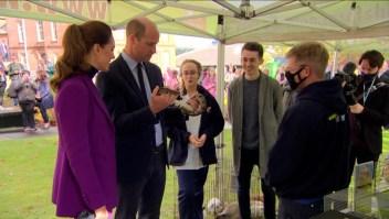 Los duques de Cambridge, entre animales exóticos