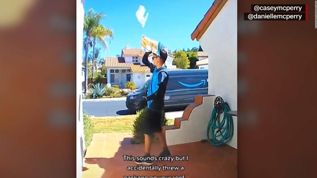 Take a look at why this Amazon delivery was so surreal