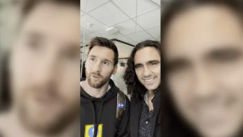 Excapitán de Argentina invita a Messi a jugar en un parque