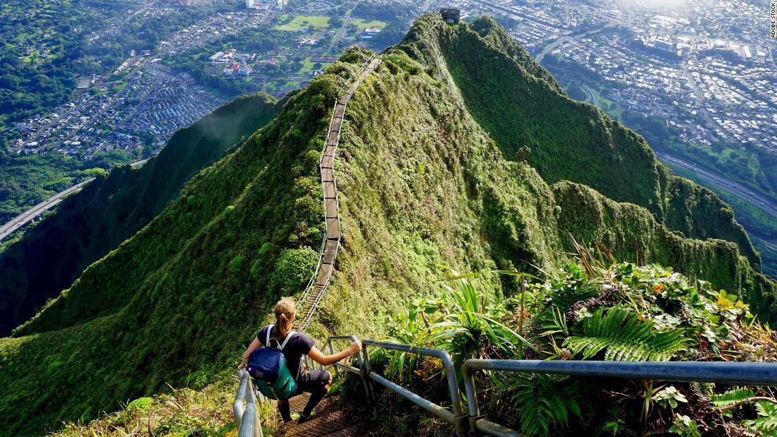 Las famosas Escaleras Haiku de Hawai probablemente serán retiradas