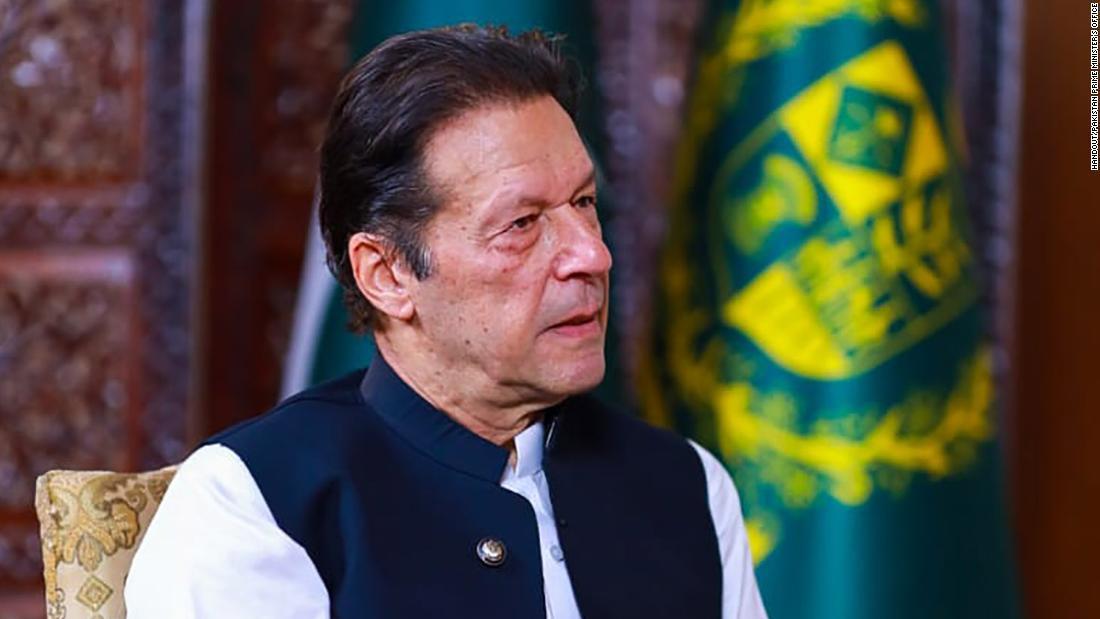 Imran Khan, primer ministro de Pakistán