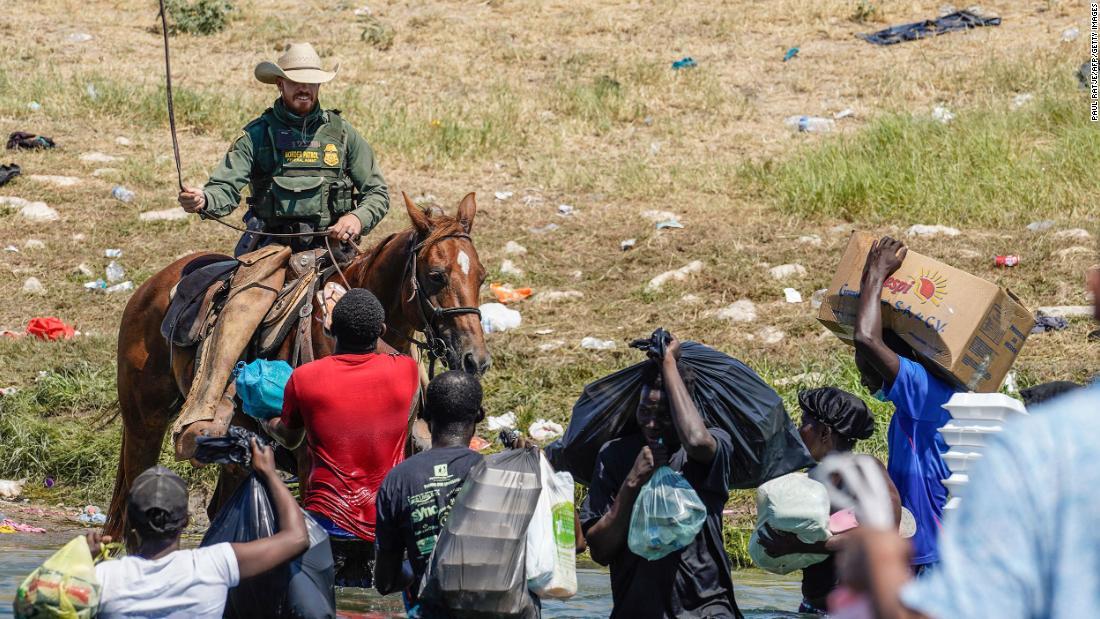 caballos patrulla fronteriza