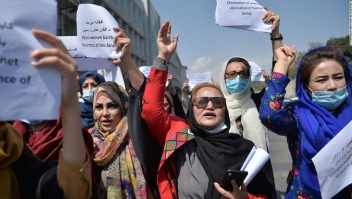 protesta mujeres Afganistán