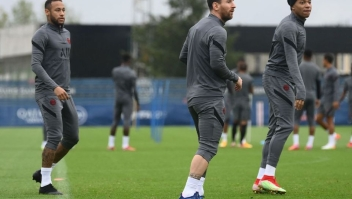 Champions League Messi PSG