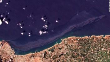 Siria derrame petrolero