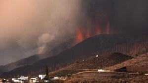 volcán de La Palma, España