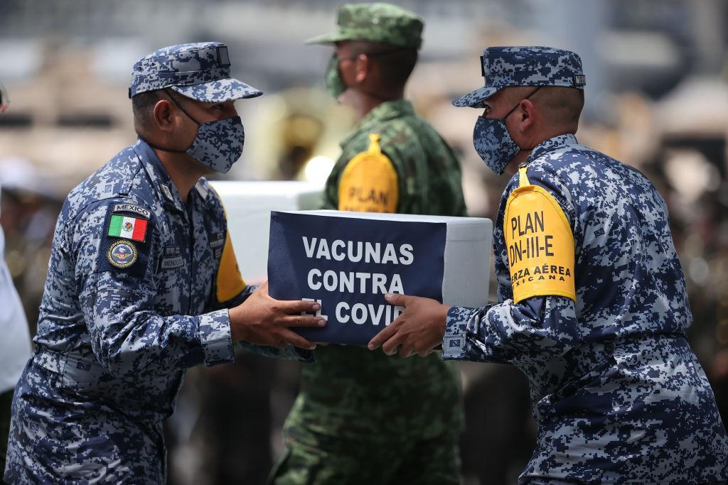 Tasas vacunación covid-19