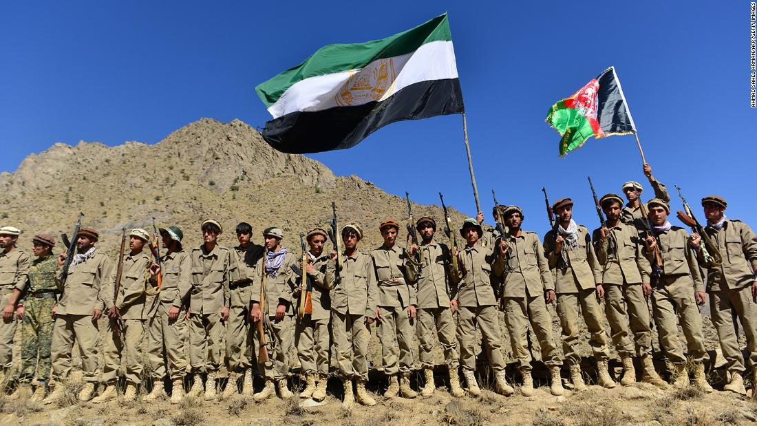 Talibanes Panjshir Resistencia Afganistán