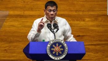 Duterte levanta las sospechas de sus rivales al buscar la vicepresidencia en 2022