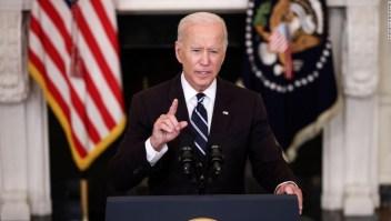 ANÁLISIS | El plan de covid-19 de seis pasos de Biden, explicado