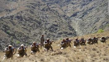 Enfrentamientos talibanes grupo anti talibán Afganistán