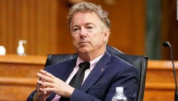 ANÁLISIS | Rand Paul tiene una teoría *muy* loca sobre la ivermectina