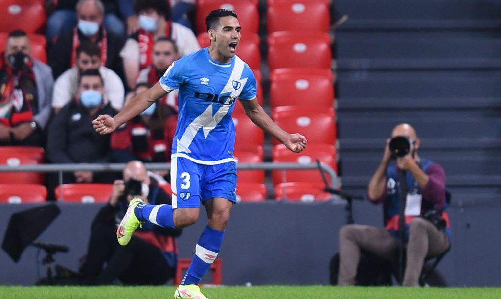 Zarpazo del 'Tigre' Falcao y a los leones del Athletic de Bilbao los partió un Rayo: 2-1