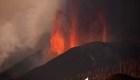 Lava del volcán de La Palma avanza a 40 km/h