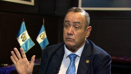 Giammattei responde en CNN: Nadie me está investigando