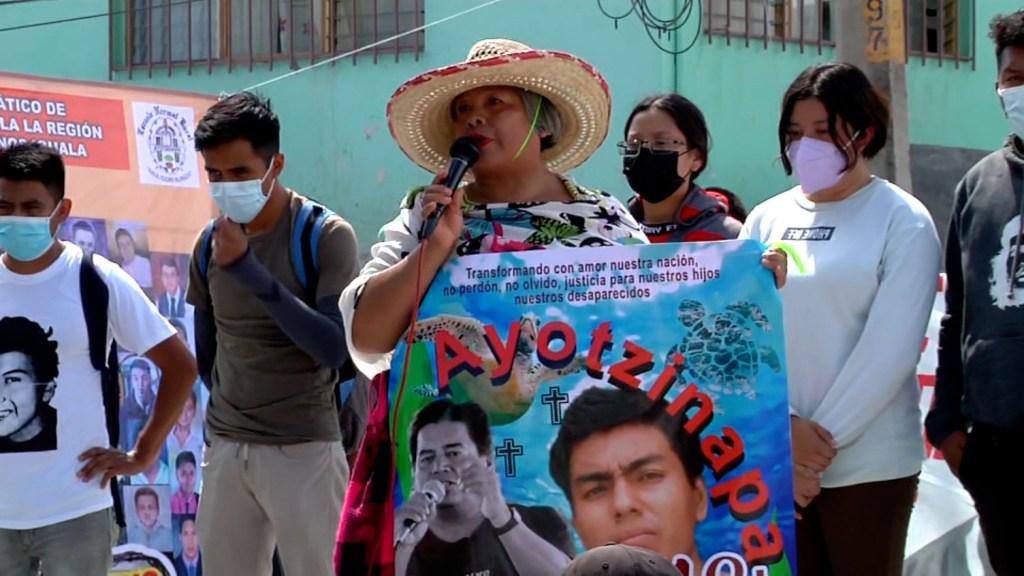 Caso Ayotzinapa: El grito de una madre que se repite tras 7 años