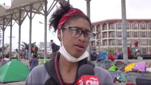 """""""Los venezolanos solo queremos sumar"""", el mensaje de una migrante tras tensión en Chile"""