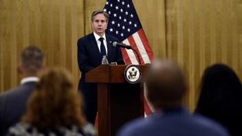 Antony Blinken sobre el gobierno interino talibán