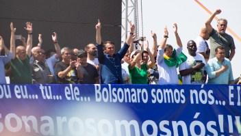 ¿Qué dijo Bolsonaro en las marchas que convocó en Brasil? Así avanzan las movilizaciones