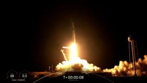 Mira el despegue de la misión histórica de SpaceX