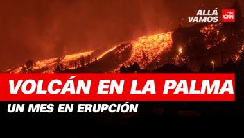 Volcán en La Palma, un mes en erupción