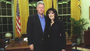 """Lewinsky califica de """"inapropiada"""" relación con Clinton"""