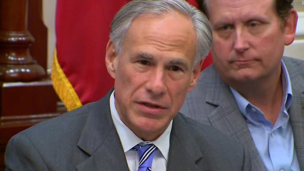 Gobernador Abbot pide a Biden acabar el muro fronterizo