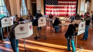 Comienzan a votar para elegir gobernador de Nueva Jersey