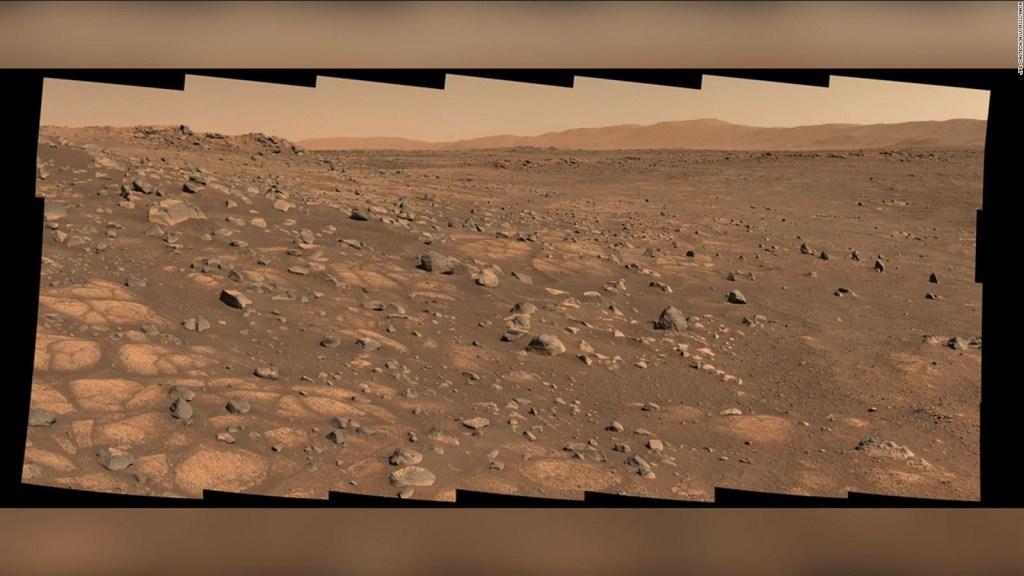 La perseveranza avanza su un lago estinto su Marte
