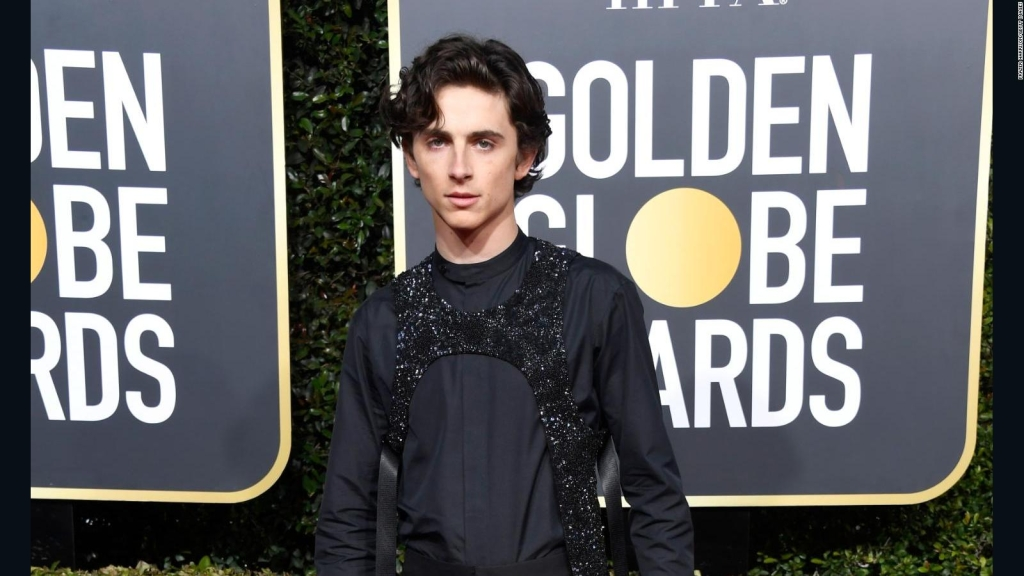 """Timothée Chalamet comme """"Willy Wonka"""""""