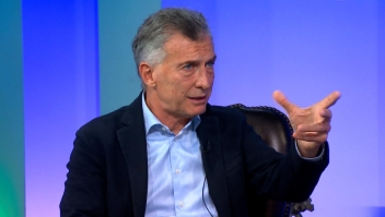 Macri, duro contra Fernández por la economía