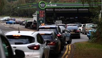 Caos en los surtidores de gasolina del Reino Unido