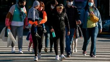 Argentina libera la obligación de uso de mascarillas