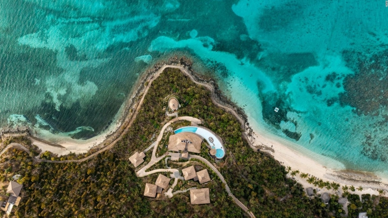 ¿Pagarías US$ 19.000 por noche en esta isla?