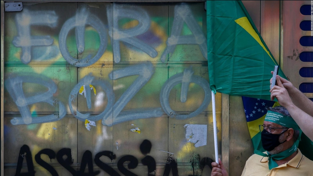 New marches against Bolsanaro